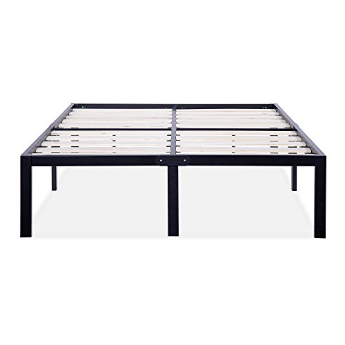 SLEEPLACE SVC14BF06T 14 Inch ST-3000 Ultra 3 Inch Wood Slat Bed Frame, Twin by SLEEPLACE (Image #2)