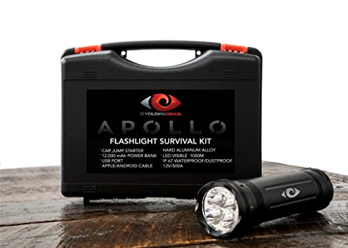 APOLLO FLASHLIGHT SURVIVAL KIT by Cyclops Gear