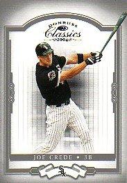 2004 Donruss Classics Baseball Card #112 Joe Crede from Donruss Classics Baseball Card