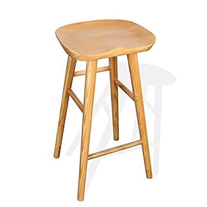 Superbe All Solid Wood Modern Simple Chair, Starbucks Bar Bar Stool Front Desk  Chairs ( Size