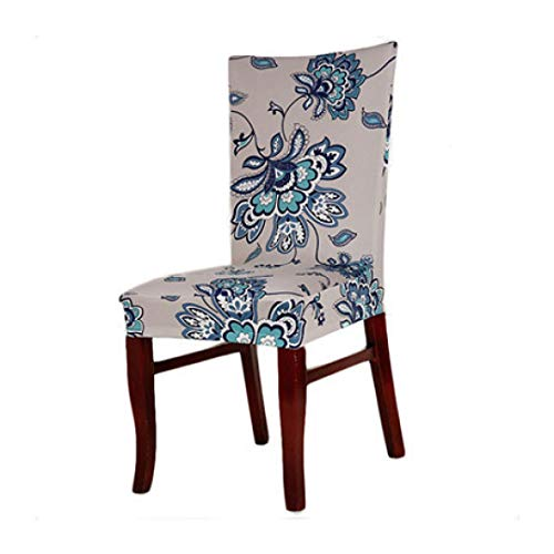 ROGEWIN Chair Covers Home Dining Room Spandex Universal Removable Stretch Elastic Slipcovers Cotton Soft Office Seat