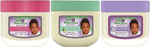 Soft & Precious Baby Nursery Jelly Trio Pack - 3 Different Baby Vaseline ()
