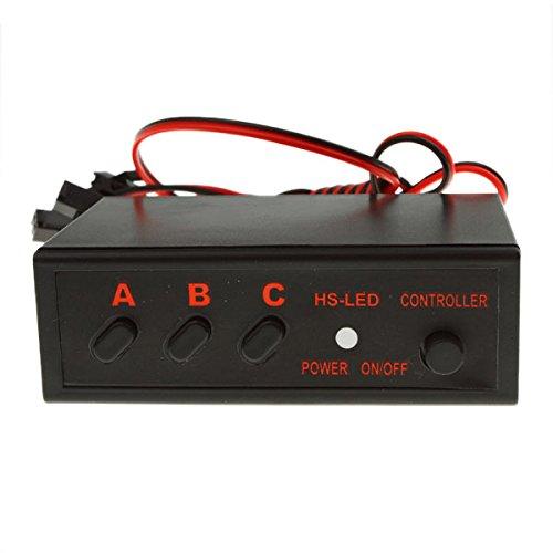 Autek 6 Ways LED Light Flasher Flash Strobe Controller Box