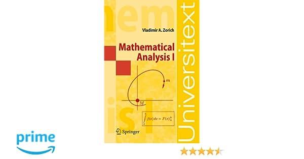 Mathematical analysis i universitext v a zorich roger cooke mathematical analysis i universitext v a zorich roger cooke 9783540874515 amazon books fandeluxe Gallery