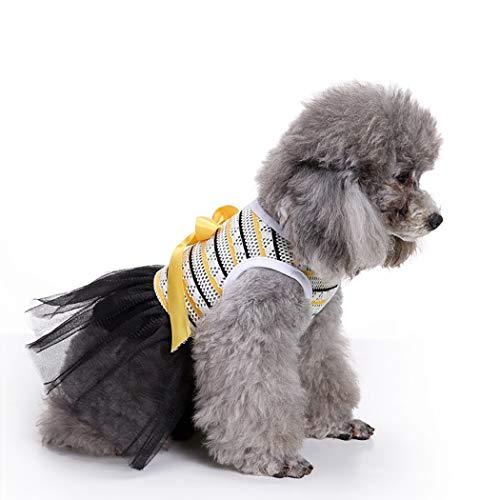 Dal Cane Partito Decorativo Cane Dal Halloween Bowknot Del Cotone Vestito M Vestito Vestiti Del Di Legendog Domestico qfRZpww