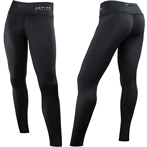 Active Research Women's Compression Pants - Leggings Tights...