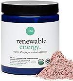Ora Organic Natural Pre Workout Powder - Vegan Energy Supplement, Organic