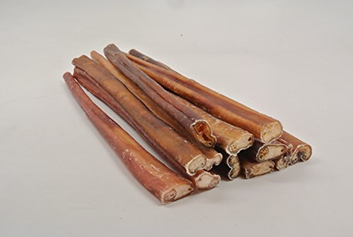 top dog chews thick 12 bully sticks 12 pack pet supplies. Black Bedroom Furniture Sets. Home Design Ideas