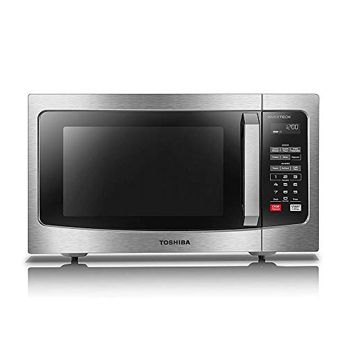 Toshiba EM245A5C-SS Microwave Oven with Inverter Technology
