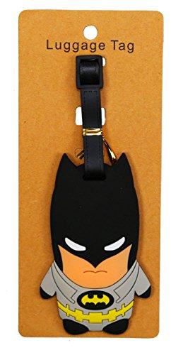 REINDEAR Superheros Heavy Duty Baggage Luggage Tag (Bat Man A)