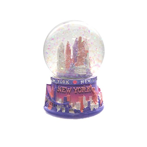 "New York City Mini NY NYC Snow Globe Souvenir 2.5"" Collection by Favorict (Style A)"