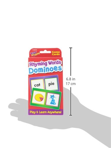 Rhyming Words Dominoes Challenge Cards by Trend Enterprises Inc (Image #2)