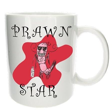 the office star mug. \u0027Prawn Star\u0027 Funny Office Tea Coffee Gift Mug - MugsnKisses Collection. The Office Star Mug