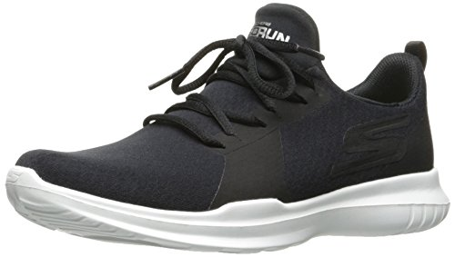 Go Interior 41 EU para Skechers Mujer Run White Zapatillas Mojo Black Deportivas Performance Negro para T5S5qw1