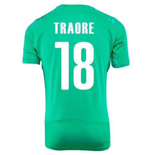 分注する被るシャンパンPUMA TRAORE #18 IVORY COAST AWAY JERSEY WORLD CUP 2014/サッカーユニフォーム コートジボワール アウェイ用 ワールドカップ2014 背番号18 トラオレ