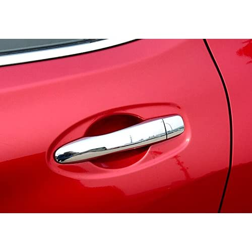 Auto Chrome Door Handle Moulding Cover Trims For Nissan Rogue 2014-2017