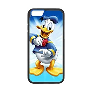 Oulfi Unique Phone Cases iPhone 6s 4.7 Inch Cell Phone Case Black Donald Duck Plastic Durable Cover