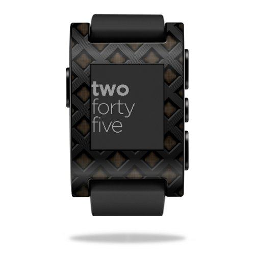 mightyskins-protective-vinyl-skin-decal-cover-for-pebble-smart-watch-wrap-sticker-skins-black-wall