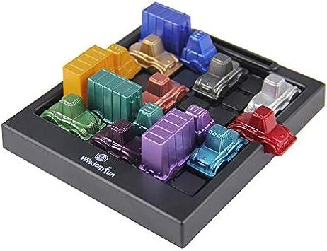 gdangel Educativo Juguete Rush Hour Car Logic Game Juguete Educativo Juguete Creativo Plástico Juego De Mesa Racing Break Car Juguetes para Niños: Amazon.es: Juguetes y juegos