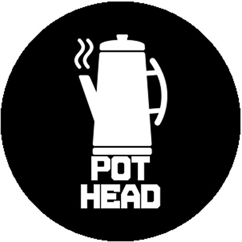 Coffee Pot Costume (Handmade Fashion Badge Button Pin Pot Head Funny Coffee Addict Lover Gag Gift)