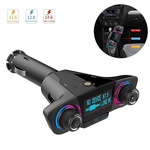 SONADY Car MP3 Player, FM Transmitter BT06 Bluetooth 4.0 MP3 Player Handsfree Bluetooth Car Kits Radio Audio Adapter 5V 2.1A ()