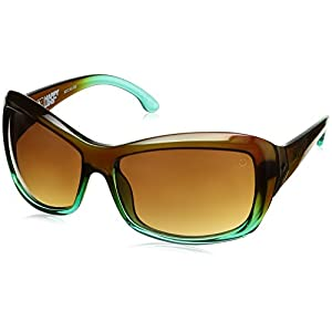 Spy Optic Farrah Flat Sunglasses,Mint Chip Fade/Happy Bronze Fade,62 mm