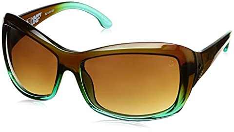 Spy Optic Farrah Flat Sunglasses,Mint Chip Fade/Happy Bronze Fade,62 mm - Spy Bronzo Da Sole