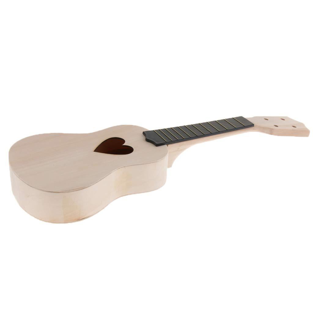 FLAMEER - Set de 4 cuerdas para guitarra, ukelele y mástil: Amazon ...