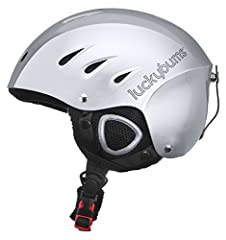 As reviewed in SKI Magazine! A great choice for the ski and snowboard hills. This helmet has two reinforced protective layers. The external shell is made from strong ABS high-impact plastic, with an inner EPS, impact-absorbing liner for dual ...