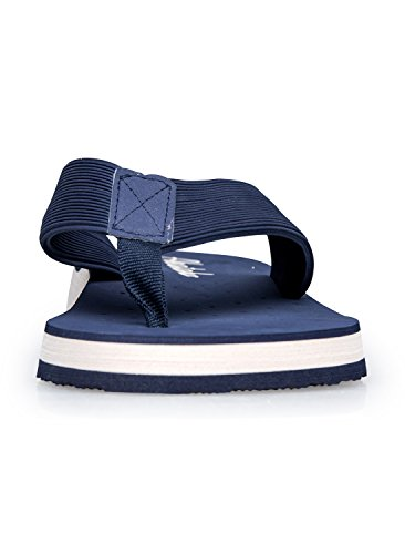 Norocos Menns Sport Sandaler Lightweihgt Flip-flops Tøfler Blå