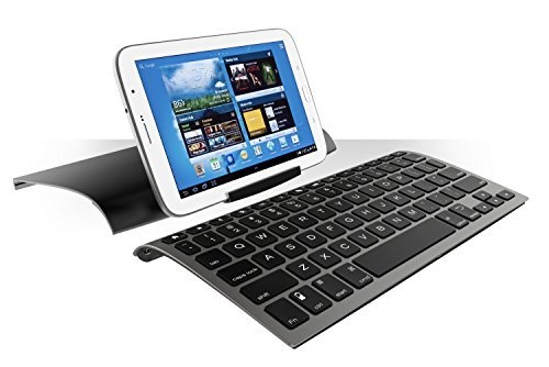Zagg Keys Universal Compact Ergonomic Keyboard, Cover and Stand Black for iOS, Andriod & Windows (ZKUNIBLK) - Brand New