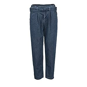 PXiong Women Hight Waisted Jeans Loose Bow Bandage Denim Jeans Stretch Pants