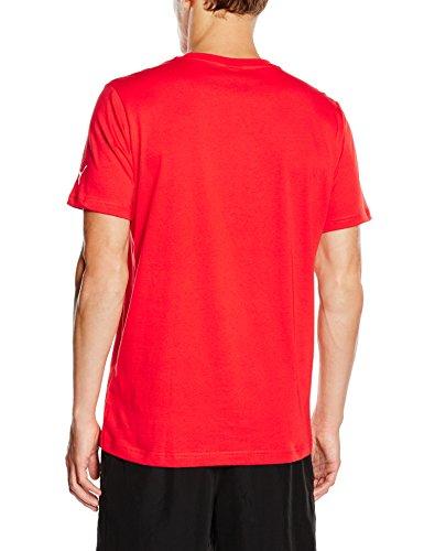 Crest Rojo Puma Q3 Talla Fan Camiseta Color Afc Deportivas Hombre camisa Tee shirt Xl T Rojo Para qxSXU