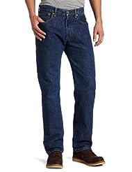 Levi\'s Men\'s 501 Original Fit Jean, Dark Stonewash, 34x32