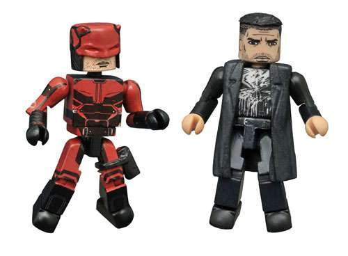 SDCC 2016 Exclusive Marvel Minimates Daredevil Netflix Figures by Diamond Select