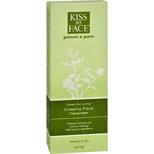 Kiss My Face Creamy Face Cleanser - 8
