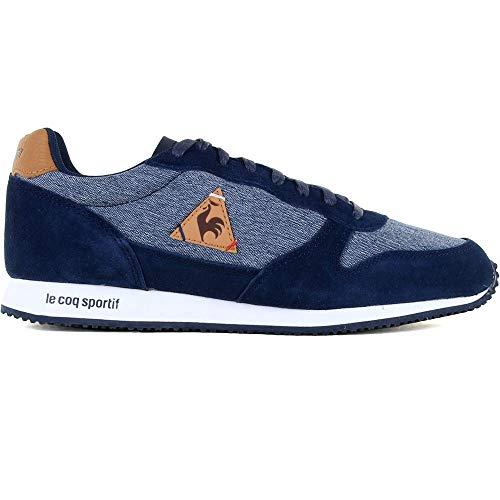 Le Herren Alpha Coq Sportif Robe Artisanale Sneaker Sucre Bleu / Brun Blau