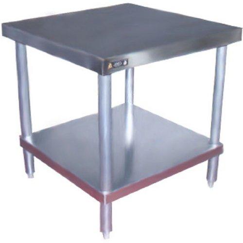 Aero SS Top Mixer Stand w/Galvanized Legs & - Ss Aero