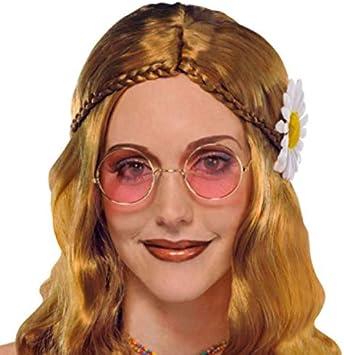 amscan 840332-55 - Gafas de fiesta hippie de los 60, 1 unidad: Amazon.es: Juguetes y juegos