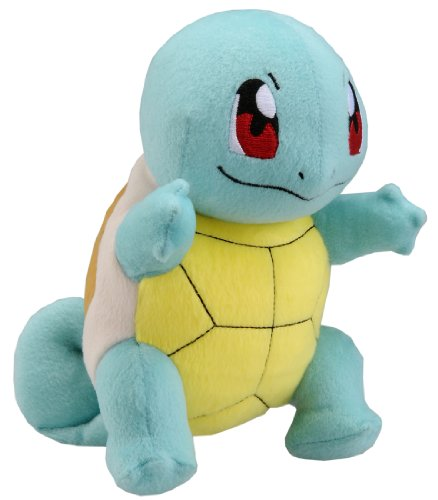 "41T%2BIboCY9L - Takaratomy New Pokemon N-10 X and Y Squirtle/Zenigame 8"" Plush Doll"
