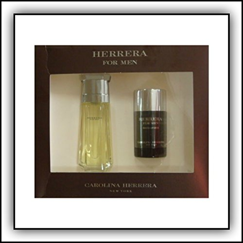 CAROLINA HERRERA by Carolina Herrera 3.4 oz EDT Spray 2 Piece Gift Set for Men
