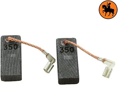 ressort cable et connecteur Balais de Charbon Buildalot Specialty ca-15-41664 pour Makita Marteau HK1820-6,5x11x25mm Avec Arr/êt automatique Remplace les pi/èces dorigine 194160-9 /& CB-350