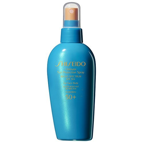Shiseido/Ultimate Spf 50 Sun Protection Spray 5.0 Oz (150 Ml)