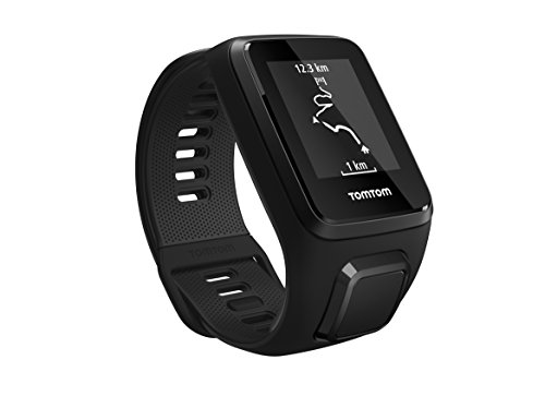 TomTom Spark 3, GPS Fitness Watch and Activity Tracker (Black, Large) TomTom Incorporated