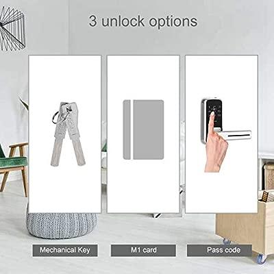 Cerradura Inteligente Electrónica, Teclado Digital sin Llave ...