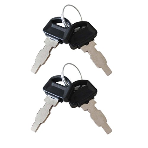 Aisen 4 Electric Start Control Box Key for Honda GX160 GX200 GX240 GX270...