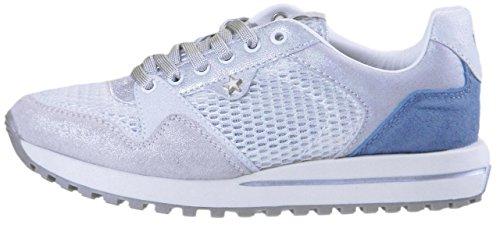 Donna White Shoes Wrangler silver Sneaker white Mod silver beyond zvIqCw