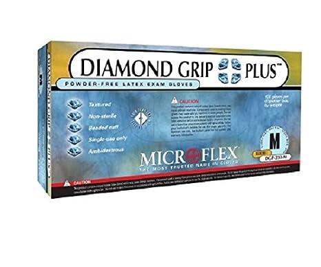 Microflex DGP-350L Diamond Grip Plus Powder Free Gloves 10 Boxes Large