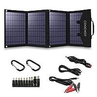 COOCHEER Solar Panel 60W, Portable Solar...