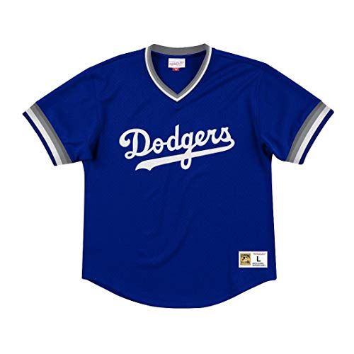 Mitchell & Ness Los Angeles Dodgers MLB Men's Dinger Mesh Jersey Shirt